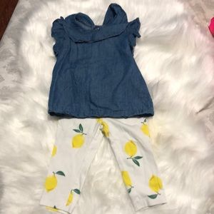 Cute infant Carter's outfit